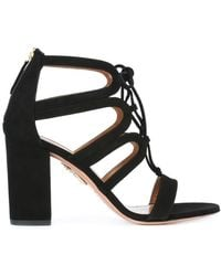 Aquazzura - 'holli' Sandals - Lyst