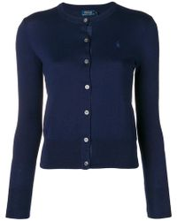 Polo Ralph Lauren - Buttoned Up Cardigan - Lyst