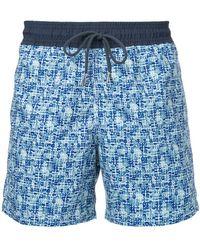 Venroy - Geometric Print Swim Shorts - Lyst