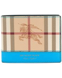 Burberry - Haymarket Check International Billfold Wallet - Lyst
