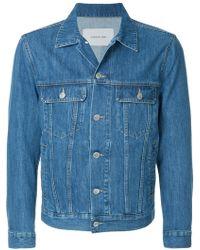En Bleu Denim Classic Cerruti Pour Hommes 1881 Jacket 7siwqupxn Lyst cFcBPpa