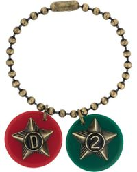 DSquared² - Poker Chip Ball Chain - Lyst