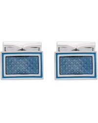 Canali - Square Embellished Cufflinks - Lyst