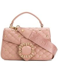 Liu Jo - Buckle Quilted Tote Bag - Lyst