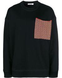 Jil Sander - Oversized Chest Pocket Sweatshirt - Lyst