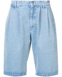 Gosha Rubchinskiy - Oversized Denim Shorts - Lyst