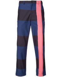 Rochambeau - Printed Slim-fit Trousers - Lyst