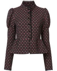 Anna Sui - Grace's Floral Jacquard Jacket - Lyst