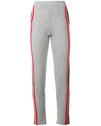 Allude - Side Stripe Track Trousers - Lyst