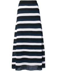Sonia Rykiel - Striped Knit Skirt - Lyst