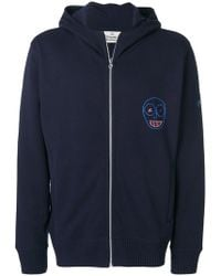 Vivienne Westwood - Embroidered Zip Up Hoodie - Lyst