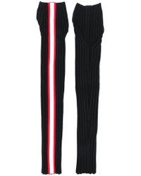 CALVIN KLEIN 205W39NYC - Side Stripe Fingerless Gloves - Lyst