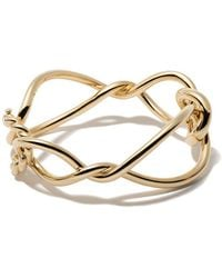 David Yurman - 18kt Yellow Gold Continuance Bold Bangle - Lyst