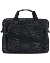 Marc Jacobs - Monogram Print Laptop Bag - Lyst