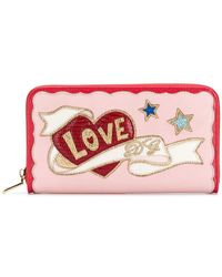 59d5c67442e3 Dolce & Gabbana - Love Patch Wallet - Lyst