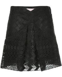 Giamba - Inverted Pleat Skirt - Lyst