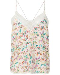 Zadig & Voltaire - Christy Butterfly Camisole - Lyst