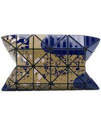 Bao Bao Issey Miyake   Geometric Pattern Clutch Bag   Lyst