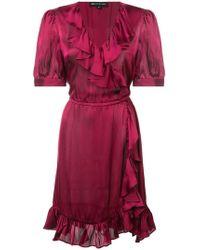 JILL Jill Stuart - Ruffle Short-sleeve Dress - Lyst