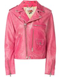 Golden Goose Deluxe Brand - Off-center Zipped Jacket - Lyst
