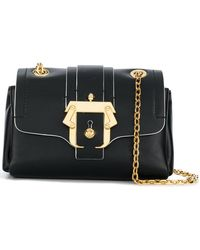 f6514bc0640e Marc Jacobs Kaia Snapshot Bag in Black - Lyst