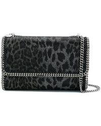 Stella McCartney - Leopard Print Falabella Shoulder Bag - Lyst