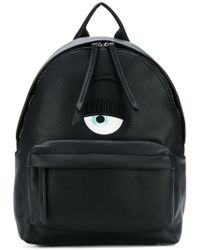 Chiara Ferragni - Pompons Eyes Backpack - Lyst
