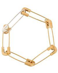 Ambush - Safety Pin Link Bracelet - Lyst
