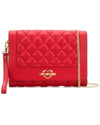 Love Moschino - Quilted Crossbody - Lyst