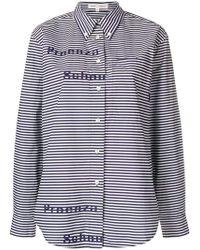 Proenza Schouler - Pswl Stripe Poplin Shirt - Lyst