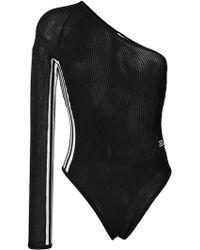 adidas - Body à design asymétrique à une épaule - Lyst