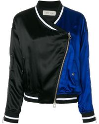 Each x Other - Embroidered Slogan Panelled Bomber Jacket - Lyst