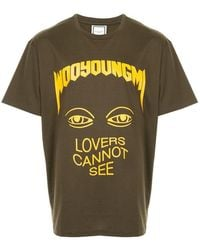 Wooyoungmi - Printed T-shirt - Lyst