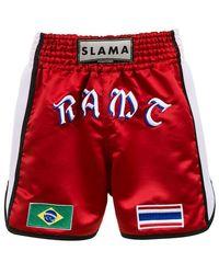 Amir Slama - Boxershorts mit Logo - Lyst