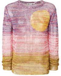 Stella McCartney - Sunset Knitted Jumper - Lyst