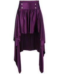Sies Marjan - Asymmetric Drape Skirt - Lyst