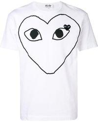 COMME DES GARÇONS PLAY T-Shirt mit Herz-Logo