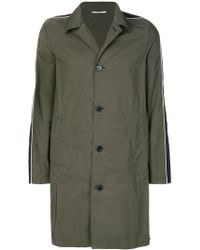 Valentino - Single Breasted Coat - Lyst