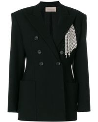 Christopher Kane - Crystal Tailored Jacket - Lyst