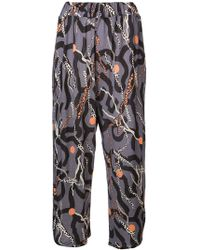 Henrik Vibskov - Email Cropped Trousers - Lyst