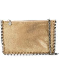 62c091b1a060 Lyst - Stella Mccartney Falabella Clutch in Red
