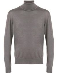 Brioni - Roll Neck Sweater - Lyst
