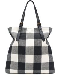 Tomas Maier - Chequer Canvas Large Besace - Lyst