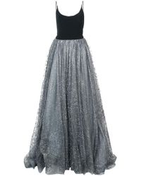 f4498d62bb8e1 Lyst - Women s Christian Siriano Maxi and long dresses On Sale