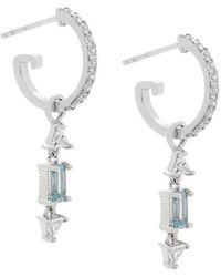 V Jewellery - Christie Mini Hoop Earrings - Lyst