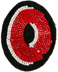Olympia Le-Tan - Alphabet Patch - Lyst