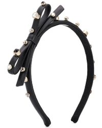 RED Valentino - Red(v) Stud Embellished Hairband - Lyst