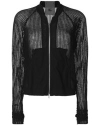 Lost and Found Rooms - Knitted Bomber Jacket - Lyst