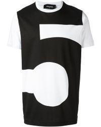 DSquared² - #5 T-shirt - Lyst