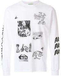 Aries - Printed Sweatshirt - Lyst